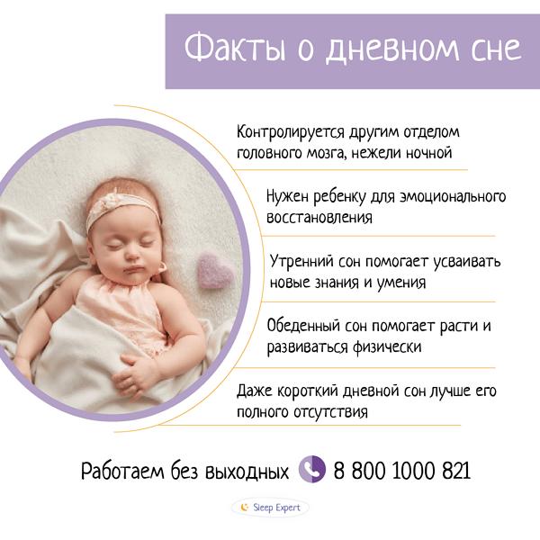 Факты о дневном сне